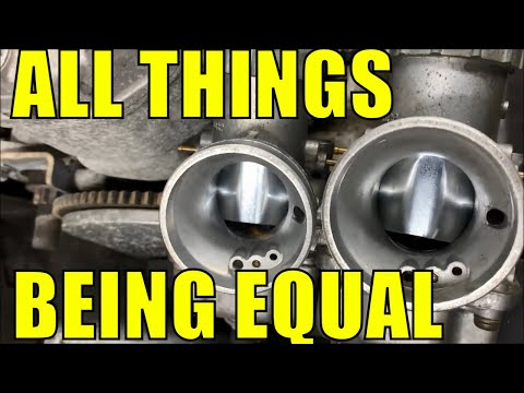 Polaris Indy 500 - How To Clean and Synchronize the Carbs