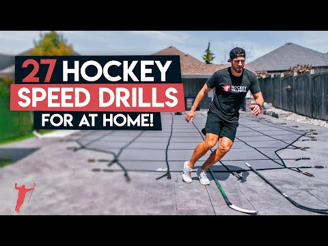 27 HOCKEY SPEED DRILLS YOU CAN DO AT HOME 🏒
