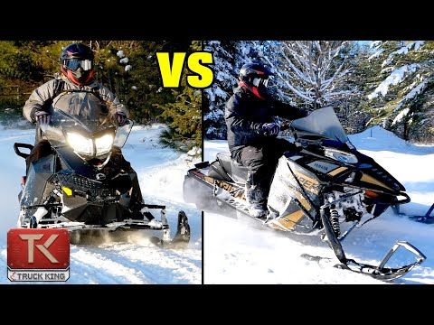 2-Stroke vs 4-Stroke Snowmobiles - What's the Difference? Comparing a New Yamaha to a Used Ski-Doo