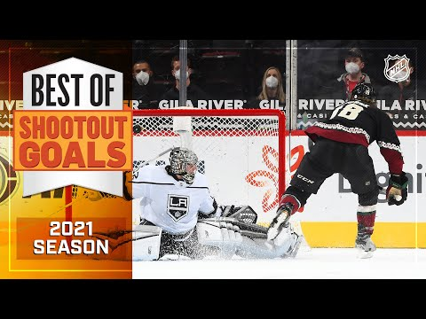 Best Shootout Goals from the 2021 NHL Season