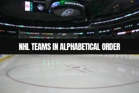 NHL teams listed in alphabetical order