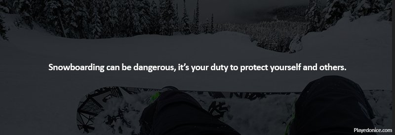 What should you not do while snowboarding